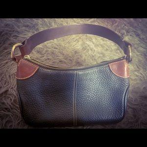 Vintage Dooney & Bourke Leather Shoulder Bag